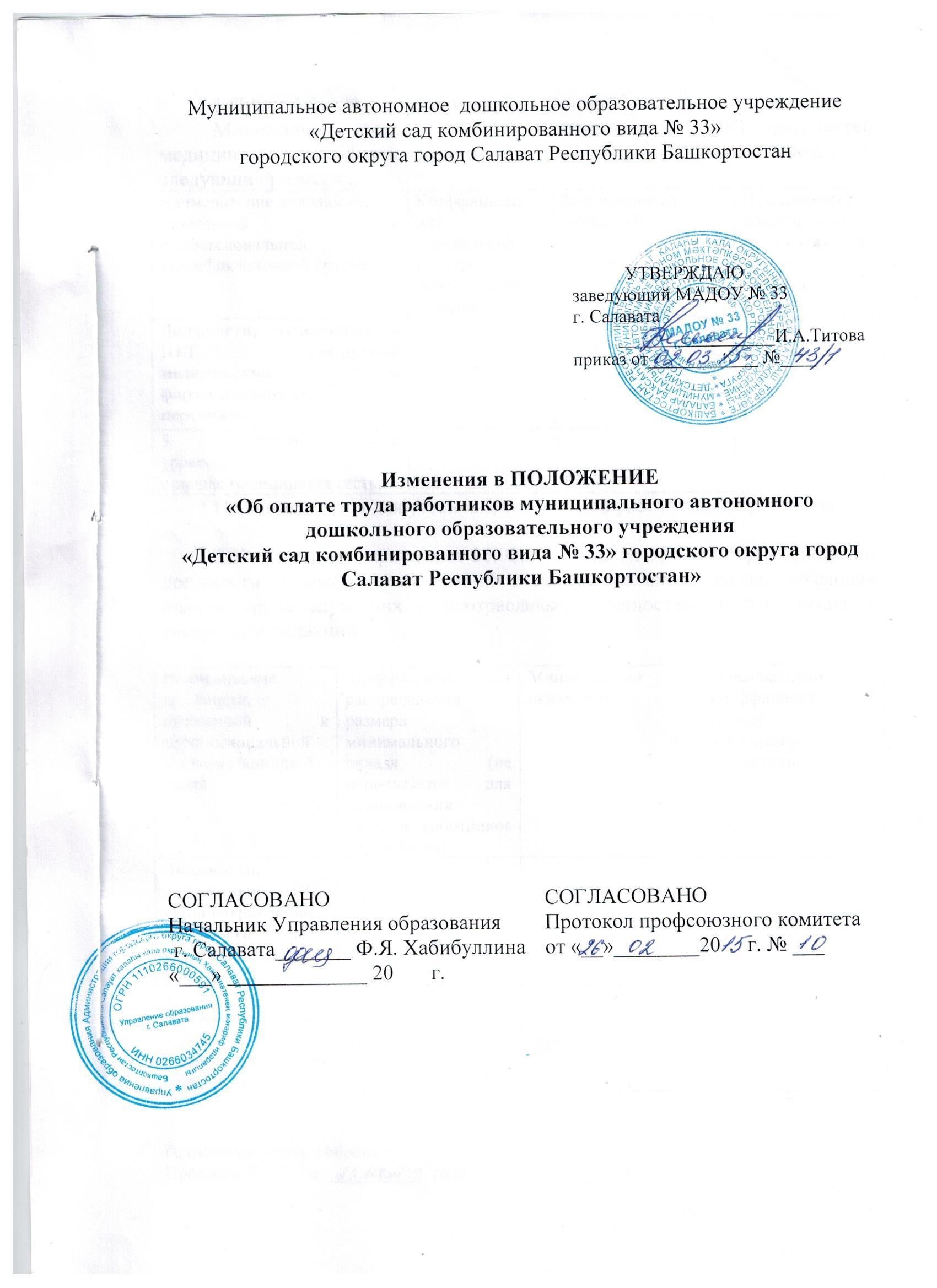 изменения в положение об оплате труда от26.02 (1)